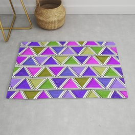 African Spring Colors Rug