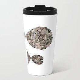 big fish small fish Travel Mug
