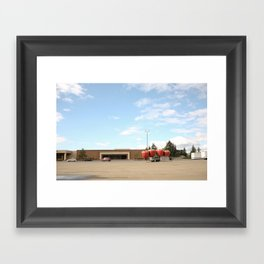 After the Party Framed Art Print