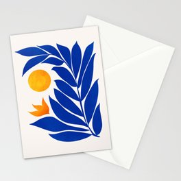 Indigo Garden Sunset Stationery Cards