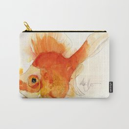 Watercolor Goldfish 4 Carry-All Pouch