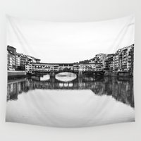florence Wall Tapestries featuring FLORENCE by Sara_photographer