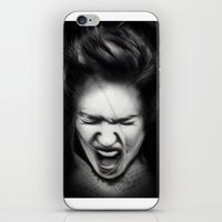 cracked iPhone & iPod Skins featuring Cracked by Shannon Toohey