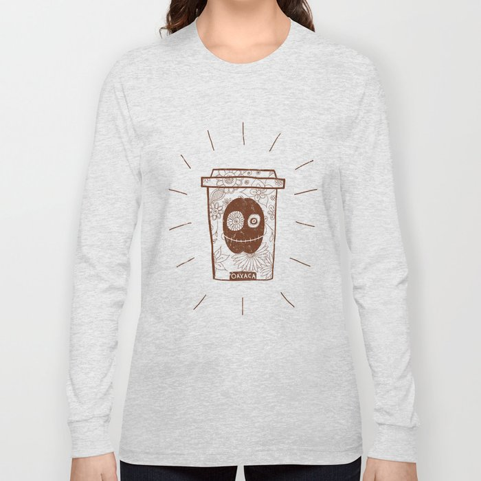 Dia de los muertos to take-out Long Sleeve T-shirt