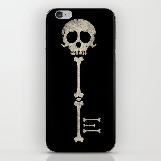 Skeleton Key iPhone & iPod Skin