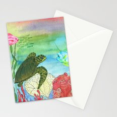 Sea Turtle Shores Stationery Cards