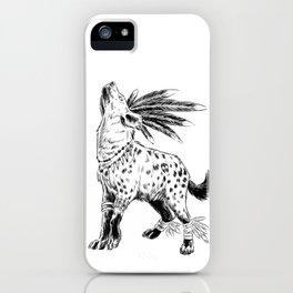 Voodoo Hyena iPhone Case