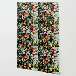 Flowing Bouquet Wallpaper