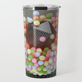Graphic Light Balls Travel Mug