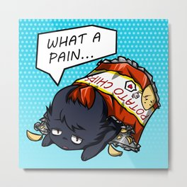 What A Pain Metal Print