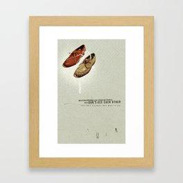 Them   Collage Framed Art Print
