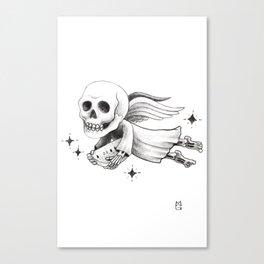 El angel Canvas Print