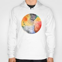 planet Hoodies featuring Planet by ceciliahansson