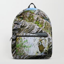 Curves Of Time Backpack