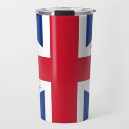 UK Flag Union Jack Travel Mug