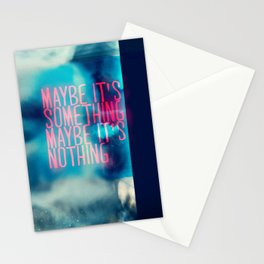 IT'S SOMETHING Stationery Cards