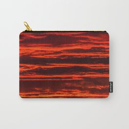 fiery sunset Carry-All Pouch