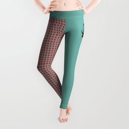 Angry Animals: Rudolph the red nosed Reindeer Leggings
