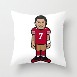 There's A New Kaeptain Pro-Toon Throw Pillow