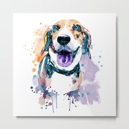 Sweet Beagle Metal Print