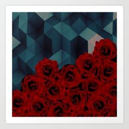 C13D Everything rosy 4 Art Print