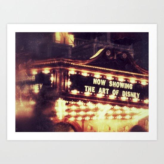 disney show Art Print