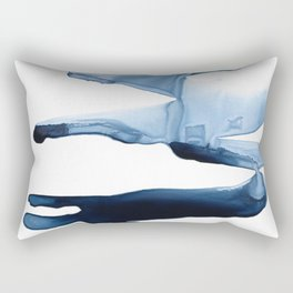 Abstract Indigo no. 2 Rectangular Pillow