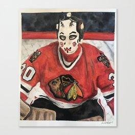 Goalie Canvas Print