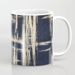 Basket Weave Abstract Coffee Mug