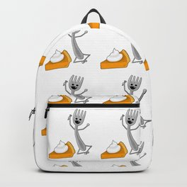 Never, Never, NEVER Give Up... and have Pie! Backpack