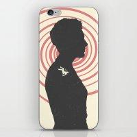 vertigo iPhone & iPod Skins featuring Vertigo by Bill Pyle