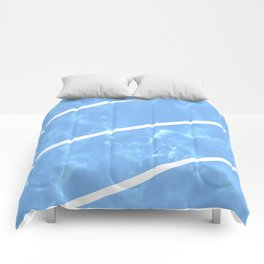 Blue Granite Comforters