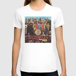 Sgt. Pepper's Lonely Heart Club Band - Legobricks T-shirt