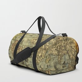 Vintage Old World Map Duffle Bag