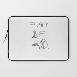 Anteaters who sing depressive hits Laptop Sleeve