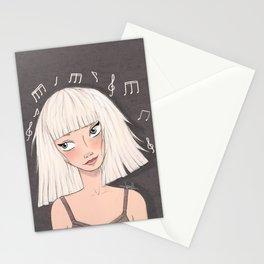 Maddie Ziegler (Chandelier - Elastic Heart) Stationery Cards