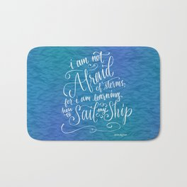Sail My Ship Bath Mat