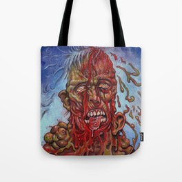 Zombie - Melting and Rotting Tote Bag