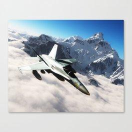 F-18 Hornet Canvas Print