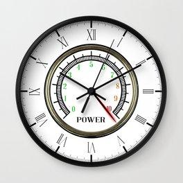 Power Meter Wall Clock