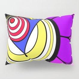 Jane's Funk Town Flower Clown Pillow Sham