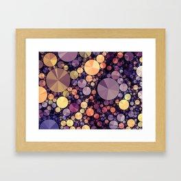 Purple Berries Framed Art Print