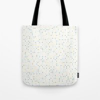 polka dot Tote Bags featuring Polka Dot by Alisa Galitsyna