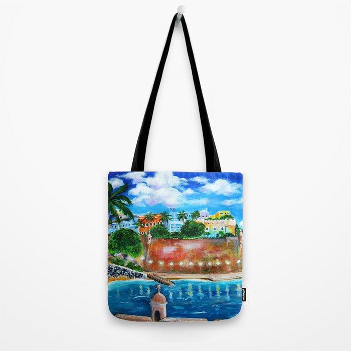 La Fortaleza, Old San Juan, Puerto Rico Tote Bag