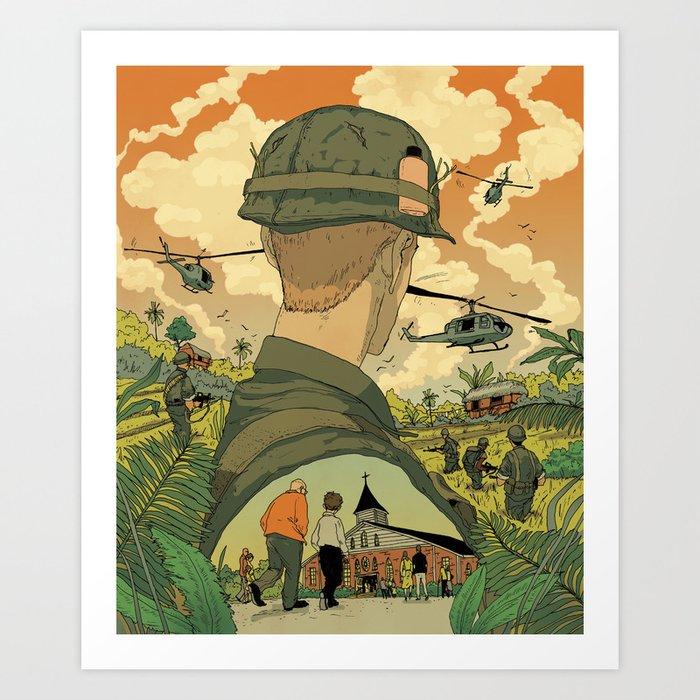Vietnam Story 1 Art Print