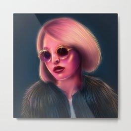 Lily-Rose Metal Print