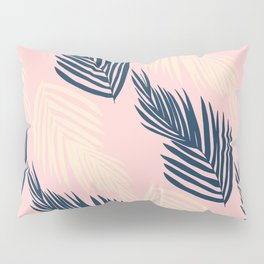 Pink Palms Pillow Sham