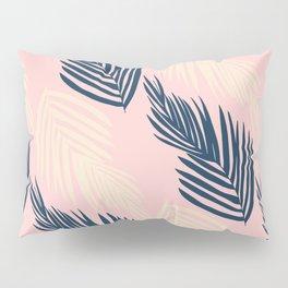 Pink Palms Pillow Sham