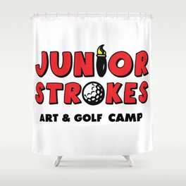 Junior Strokes Camp Shower Curtain