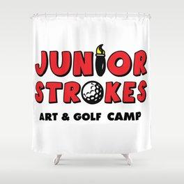 Junior Strokes Camp Shower Curtain